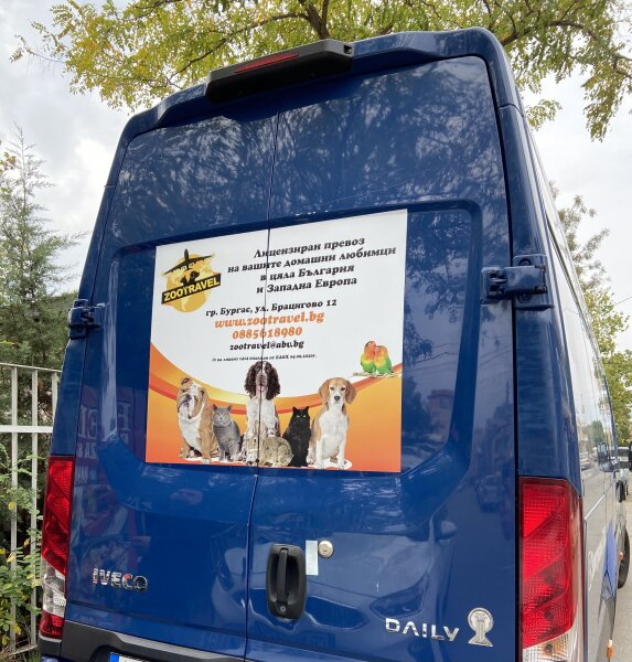 1. Снимка на Лицензиран превоз на домашни любимци в цяла България и Европ